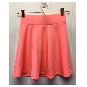 Charlotte Russe | Soft Bright Pink Skater Skirt